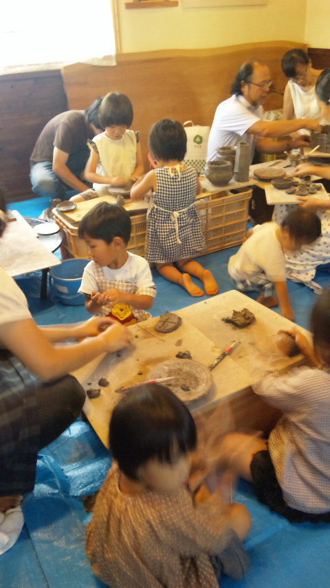 陶芸教室イン楽布工房