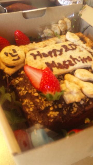 年末のこと♪ケーキ